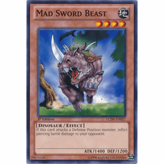 Mad Sword Beast LCJW-EN027 - YuGiOh Joey's World Common Card