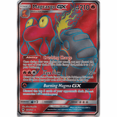 Magcargo GX - 198/214 - Full Art Ultra Rare
