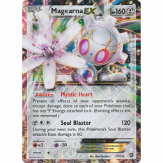 Magearna EX 75/114 Ultra Rare - Pokemon XY Steam Siege Card