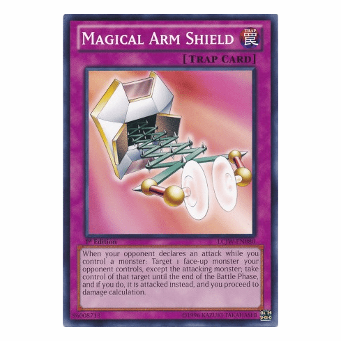 Magical Arm Shield LCJW-EN080 - YuGiOh Joey's World Common Card