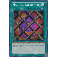 Magical Labyrinth LCJW-EN231 - YuGiOh Joey's World Common Card