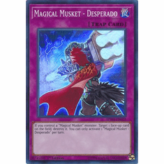 Magical Musket - Desperado - SPWA-EN025 - Super Rare
