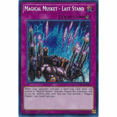 Magical Musket - Last Stand - SPWA-EN028 - Secret Rare