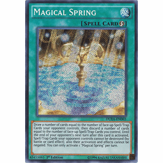 Magical Spring DUEA-EN065 - Duelist Alliance SECRET RARE Duelist Alliance Card