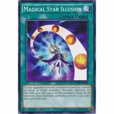 Magical Star Illusion NECH-EN058 - Common The New Challengers Card