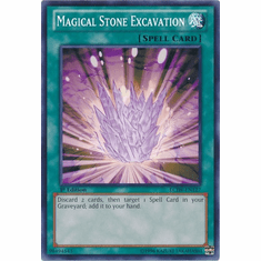 Magical Stone Excavation LCJW-EN127 - YuGiOh Joey's World Common Card