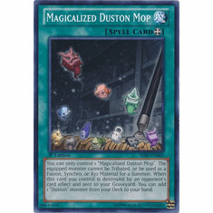 Magicalized Duston Mop SHSP-EN069 - YuGiOh Shadow Specters Common Card