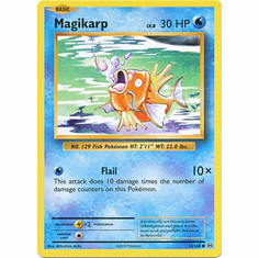 Magikarp 33/108 Common - Pokemon XY Evolutions Single Card