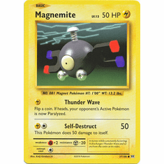 Magnemite 37/108 Common - Pokemon XY Evolutions Single Card