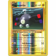 Magnemite 37/108 Common - Reverse Pokemon XY Evolutions Single Card