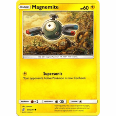 Magnemite - 58/236 - Common Sun & Moon: Unified Minds