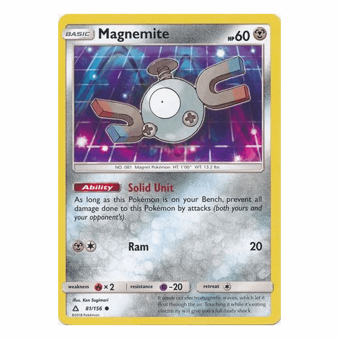 Magnemite 81/156 Common - Pokemon Ultra Prism