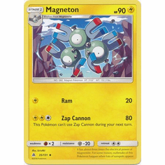 Magneton 35/131 Uncommon - Pokemon Sun & Moon Forbidden Light Card