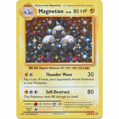 Magneton 38/108 Holo Rare - Pokemon XY Evolutions Single Card