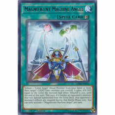Magnificent Machine Angel YuGiOh � Legendary Duelists: Sisters of the Rose Rare