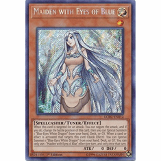 Maiden with Eyes of Blue LCKC-EN012 Secret Rare - Legendary Collection Kaiba