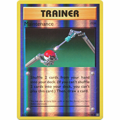 Maintenance 79/108 Uncommon - Reverse Pokemon XY Evolutions Single Card