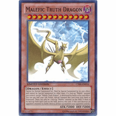 Malefic Truth Dragon CT09-EN016 - YuGiOh Super Rare Promo Card