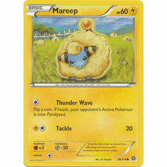 Mareep 38/114 Common - Pokemon XY Steam Siege Card