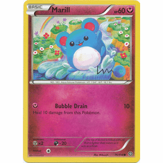 Marill 76/114 Common - Pokemon XY Steam Siege Card