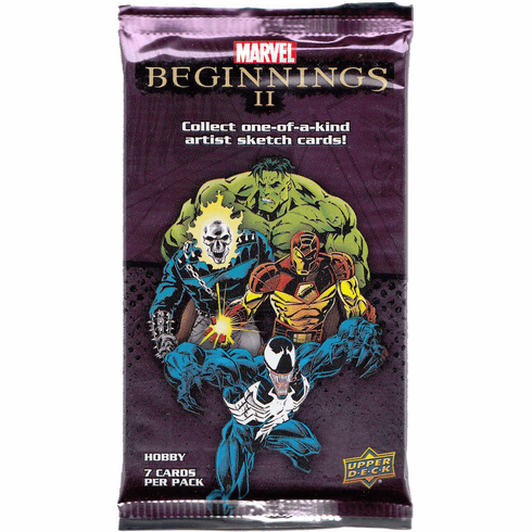 Marvel Beginnings 2: Booster Pack ( 7 Cards Per Pack )