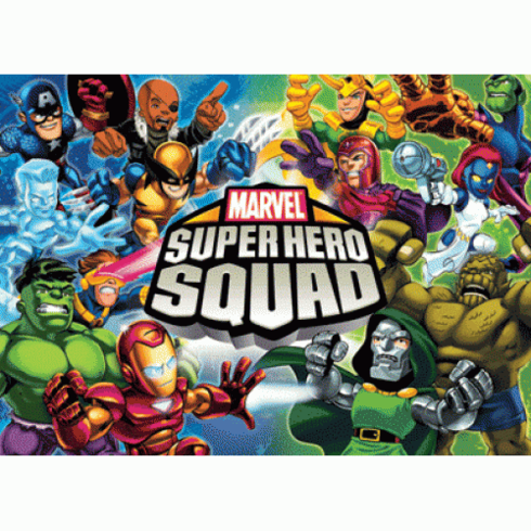 Marvel Super Hero Squad Hero's Destinys Booster Box (24 Booster Packs)