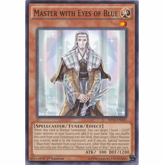 Master with Eyes of Blue SHVI-EN021 Common - YuGiOh Shining Victories Card