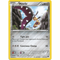 Mawile 78/122 Uncommon - Pokemon XY Breakpoint Card