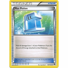 Max Potion 103/122 Uncommon - Pokemon XY Breakpoint Card