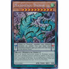 Mayosenju Daibak THSF-EN001 - YuGiOh The Secret Forces Secret Rare Card