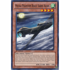 Mecha Phantom Beast Sabre Hawk SHSP-EN027 - Shadow Specters Common Card