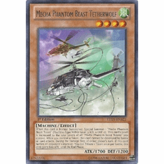 Mecha Phantom Beast Tetherwolf LTGY-EN022 - Lord Of The Tachyon Galaxy Rare