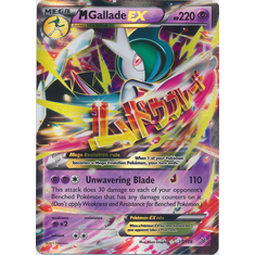 Mega Gallade EX 35/108 Ultra Rare - Pokemon XY Roaring Skies Card