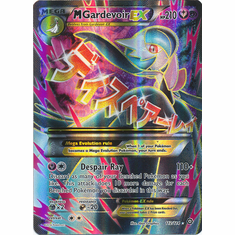 Mega Gardevoir EX 112/114 Full Art - Pokemon XY Steam Siege Card