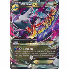Mega Latios EX 59/108 Ultra Rare - Pokemon XY Roaring Skies Card