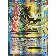 Mega Steelix EX 109/114 Full Art - Pokemon XY Steam Siege Card
