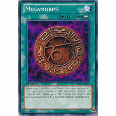 Megamorph SDCR-EN024 - YuGiOh Cyber Dragon Revolution Common Card