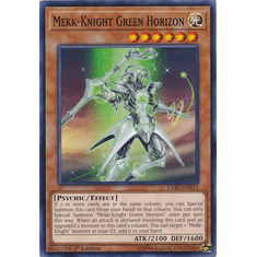 Mekk-Knight Green Horizon EXFO-EN015 Common - YuGiOh Extreme Force
