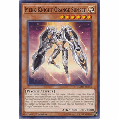 Mekk-Knight Orange Sunset EXFO-EN016 Common - YuGiOh Extreme Force