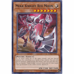 Mekk-Knight Red Moon EXFO-EN018 Rare - YuGiOh Extreme Force