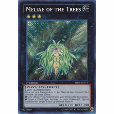Meliae of the Trees SHSP-EN055 - YuGiOh Shadow Specters Secret Rare Card