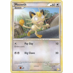 Meowth 4/30 - Pokemon Promo Card