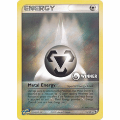 Metal Energy 94/109 Winner Holo Promo Card