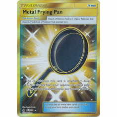 Metal Frying Pan 144/131 Secret Rare - Pokemon Sun & Moon Forbidden Light Card