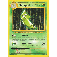 Metapod 4/108 Uncommon - Pokemon XY Evolutions Single Card