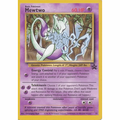 Mewtwo 12 - Pokemon Rare Promo Card