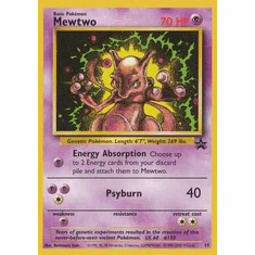 Mewtwo 14 - Pokemon Rare Promo Card