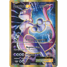 Mewtwo EX 103/108 Full Art - Pokemon XY Evolutions Single Card