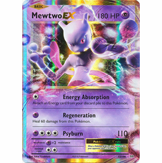 Mewtwo EX 52/108 Ultra Rare - Pokemon XY Evolutions Single Card