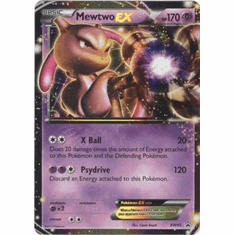 Mewtwo EX BW45 - Pokemon Ultra Rare Promo Card